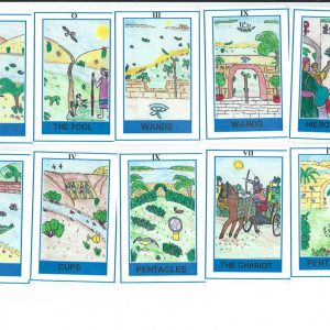 Egyptian Tarot Deck Travel Size