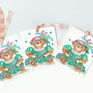 Gift Tag Teddy Collection No 63