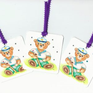 Gift Tag Teddy Collection no 69