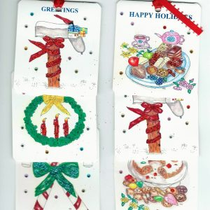 Gift Tags Christmas assorted 6 pkg