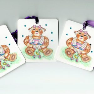 Gift Tags Teddy Collection No 62
