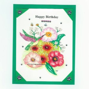 Online Greeting Card FLC21 Happy b-day