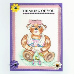 Online Greeting Card TC62 Thinking of you