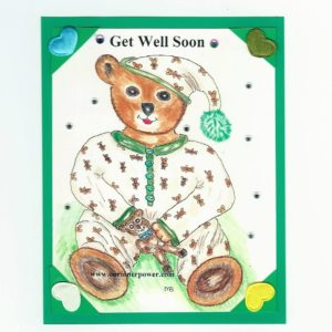 online Greeting Card TC65 Get Well Soon