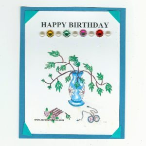 online Greeting card FLC11 Happy b-day