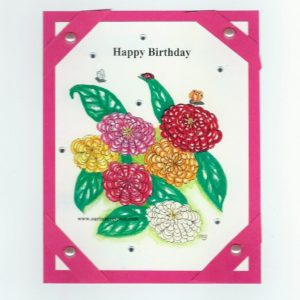 online greeting card no FLC60 Happy B-Day