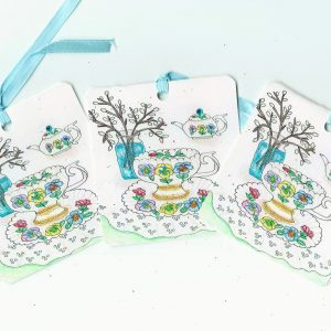 Gift Tags Tea Cup No 219