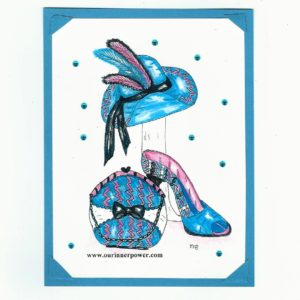 online Greeting Card ShoeC301