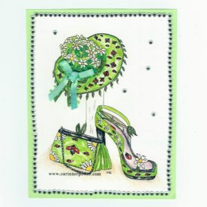 online Greeting Card ShoeC303