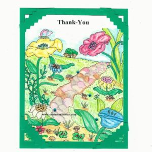 online Greeting Card FC30 Thank you