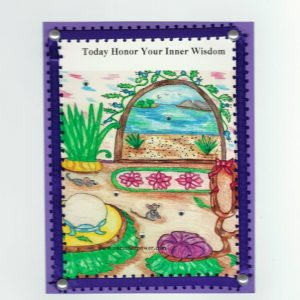 online Greeting card FC40 inner wisdom